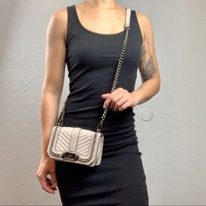 Rare Rebecca Minkoff small love crossbody purse